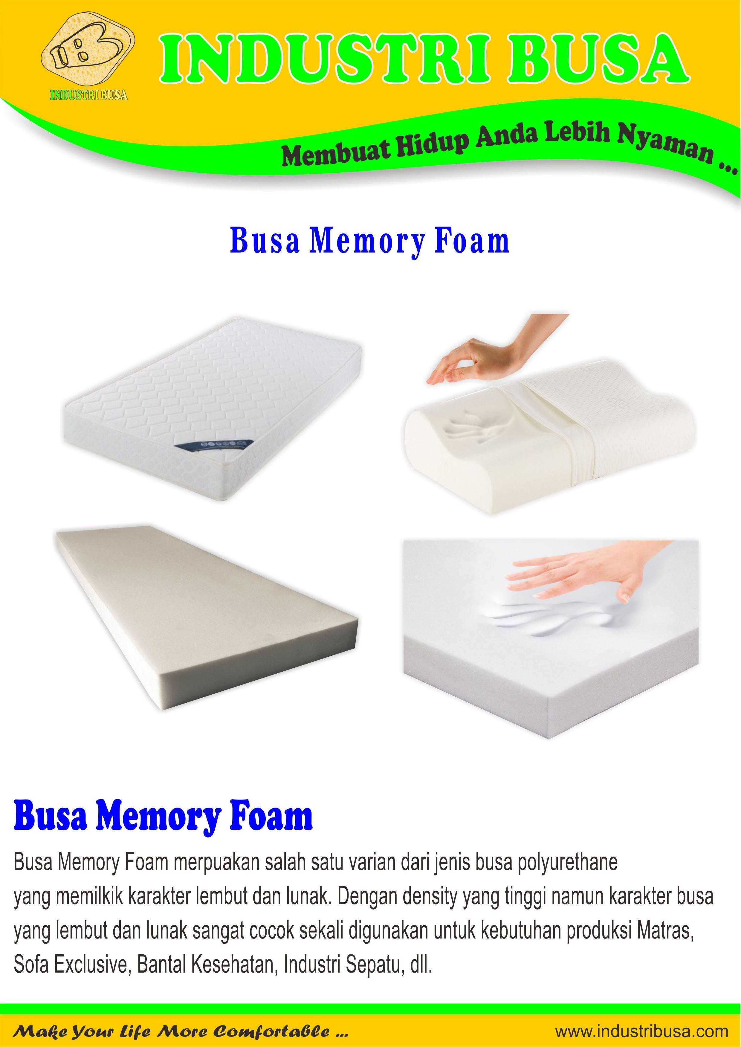 Busa Memory Foam 2