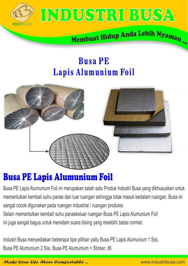 Busa PE Alumunium Foil