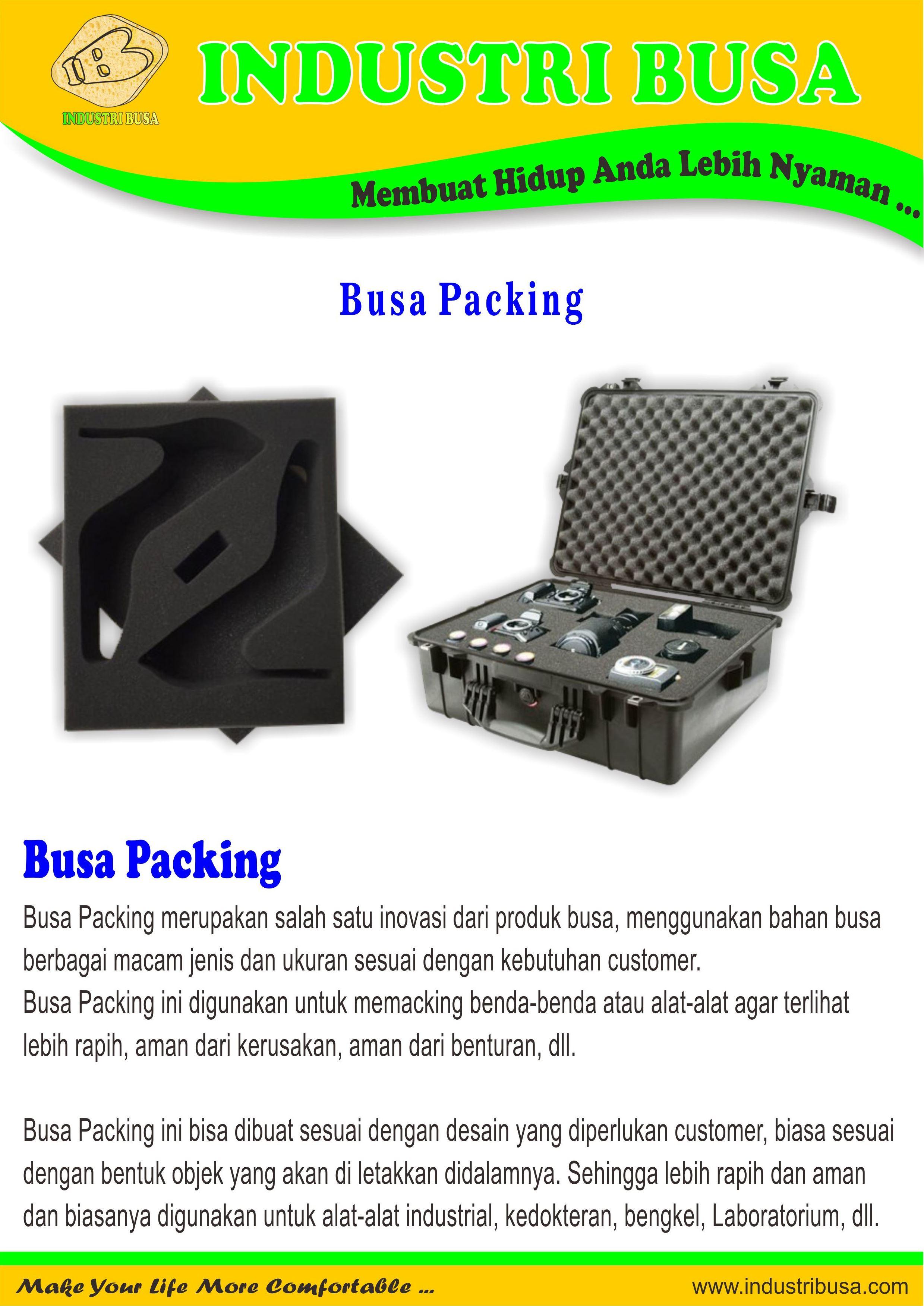 Busa Packing