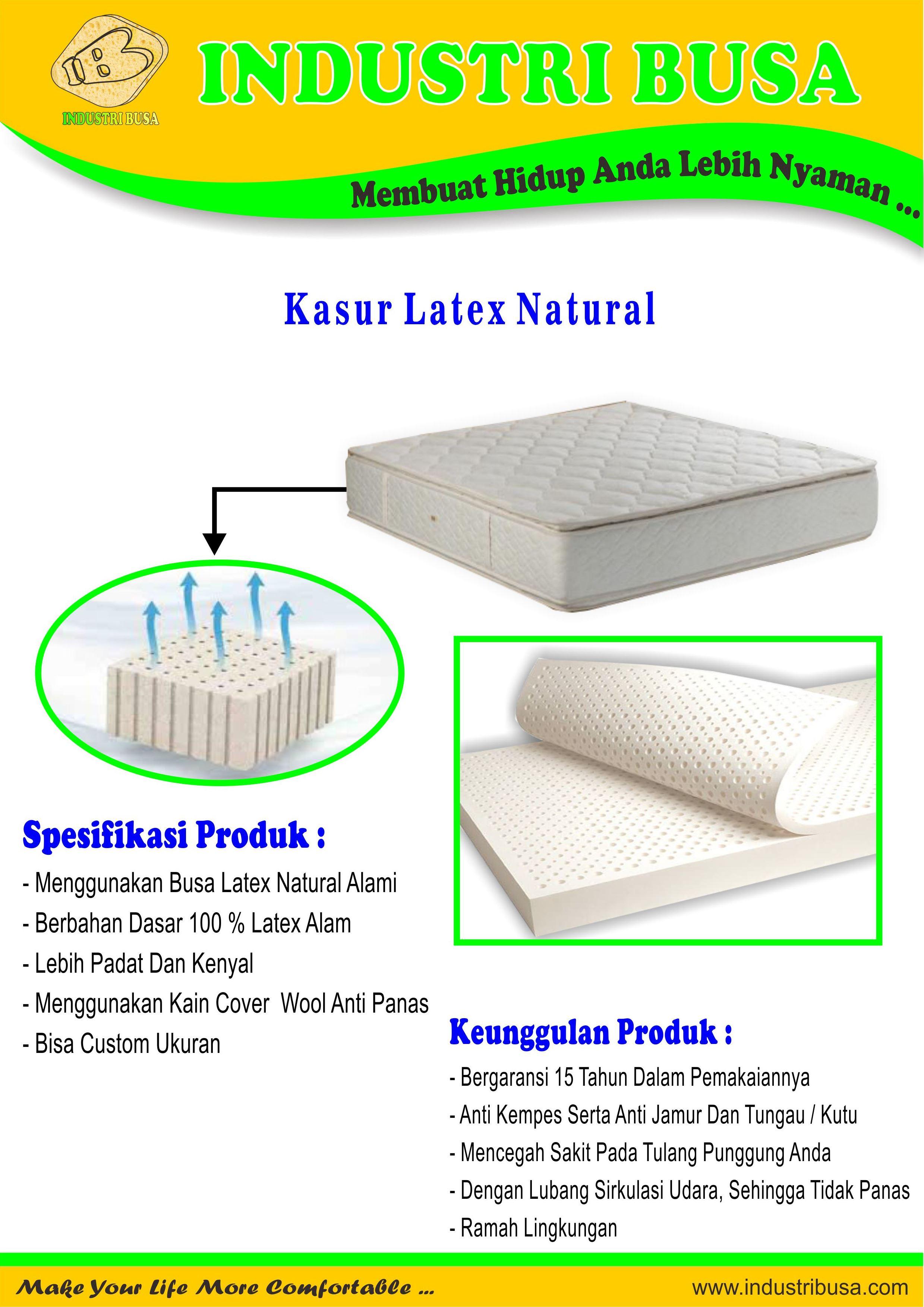 Kasur Latex Natural