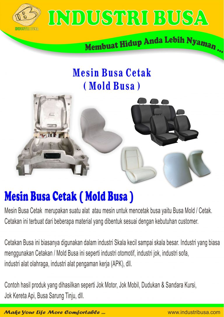 Busa Cetak - Busa Mold