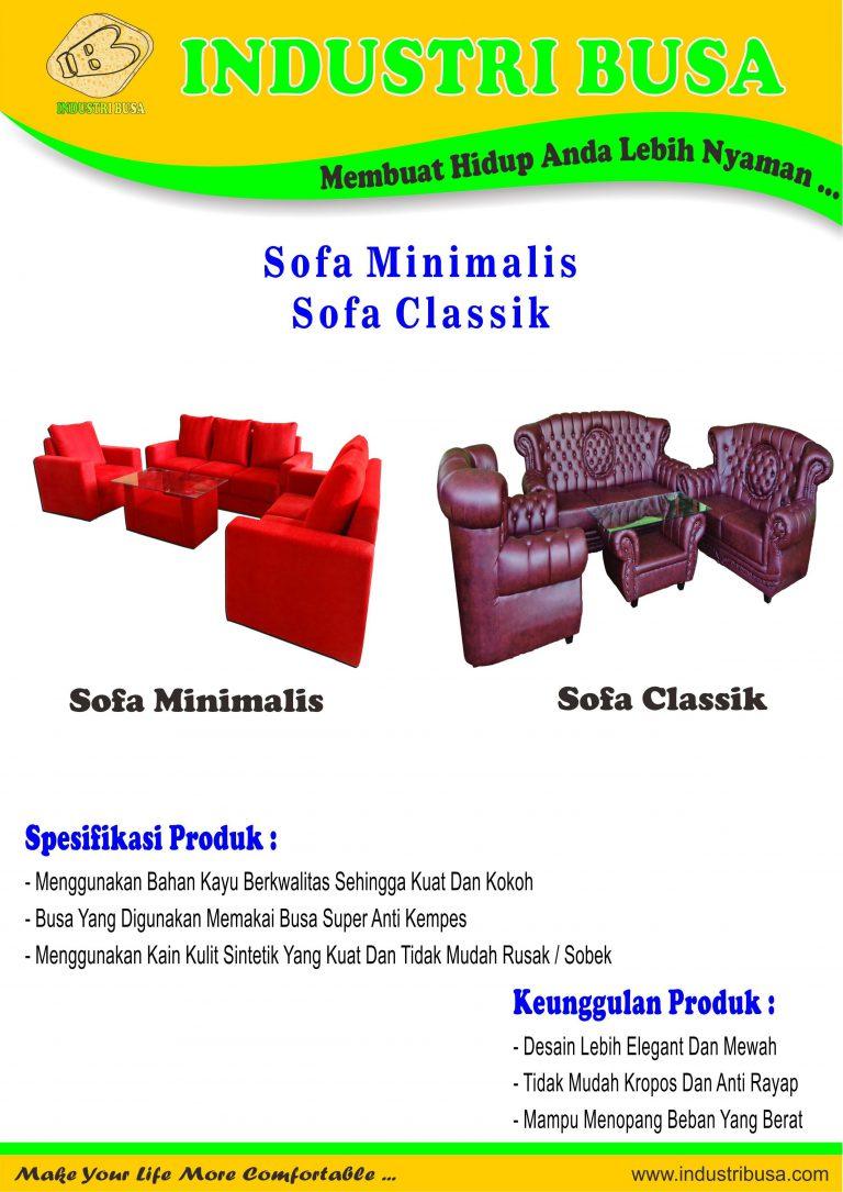 Sofa Minimalis - Sofa Classik